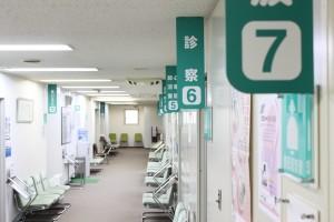 検査待合室2階
